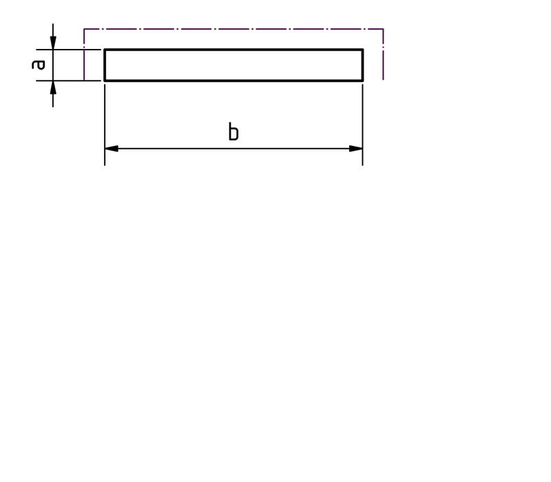 Flachstange Pictogramm bei Design MWM