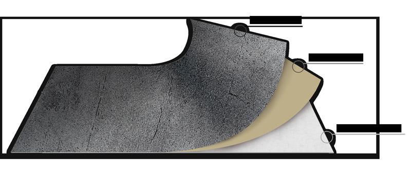 Schichtmuster VlexStone bei Design MWM