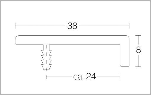 Zeichnung Griffleiste Typv1  bei Design MWM